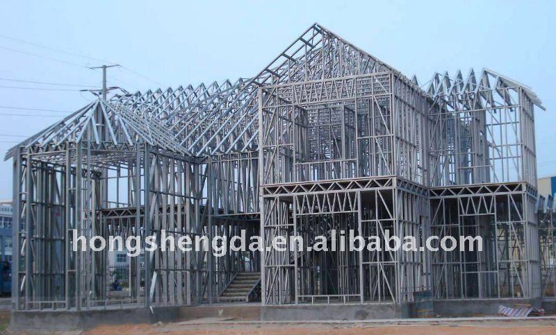 earthquake proof galvanized steel frame house buy galvanized steel frame houselight steel frame housesimple steel structure villa house product on