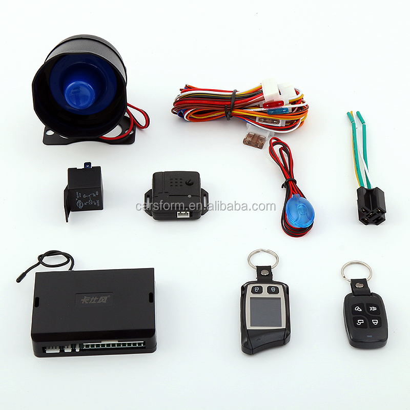 2 WAY FM TO FM LCD CAR ALARM REMOTE ENGINE START CENTRAL LOCKING KIT MICROWAVE