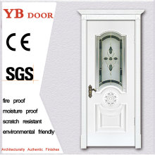 coloured frosted store grey traditional philippines wood doors polish masonite door YBVD-6180B