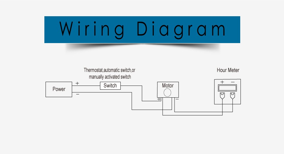 hour meter wiring diagram read all wiring diagram Single Phase Outlet Wiring Diagram