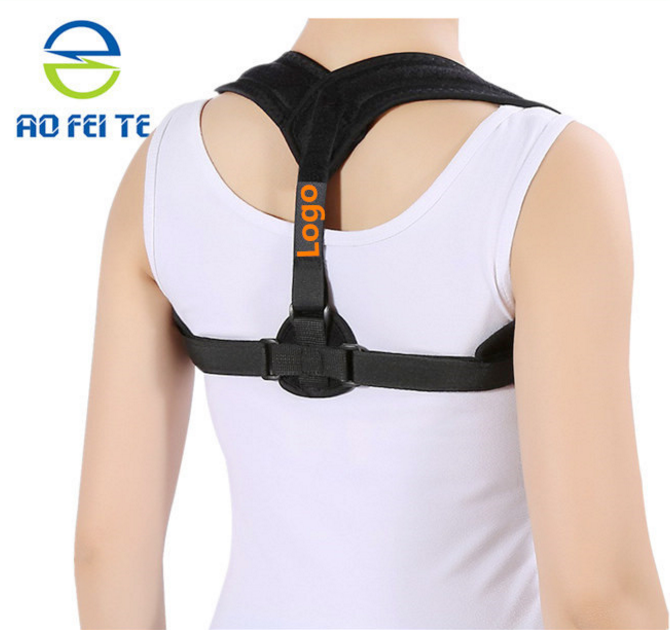 Amazon Hot Selling Adjustable Back Clavicle Brace Support Posture Corrector for Pain Relief