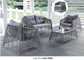 Germany Outdoor Royal Rattan Cube Garden Furniture