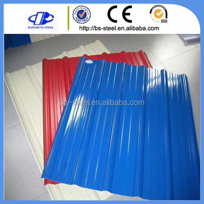 Supply High Quality GI and PPGI/Prepainted Steel Roofing Sheet/Continuous Galvanizing Line Factory in Hangzhou