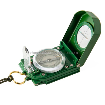 Professional strong magnetic army compass with odometer and clinometer