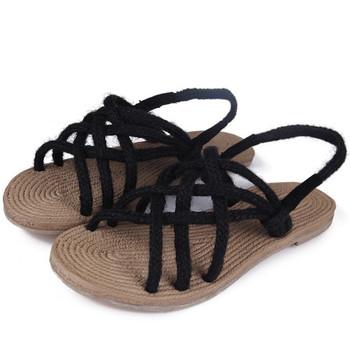 Verano De Las Mujeres Bohemia Sandalias De Las Señoras Al Aire Libre Sandalias Planas Venda Zapatos Buy Sandalias Bohemia De Verano Para