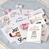 Custom paper printing birthday gift cards