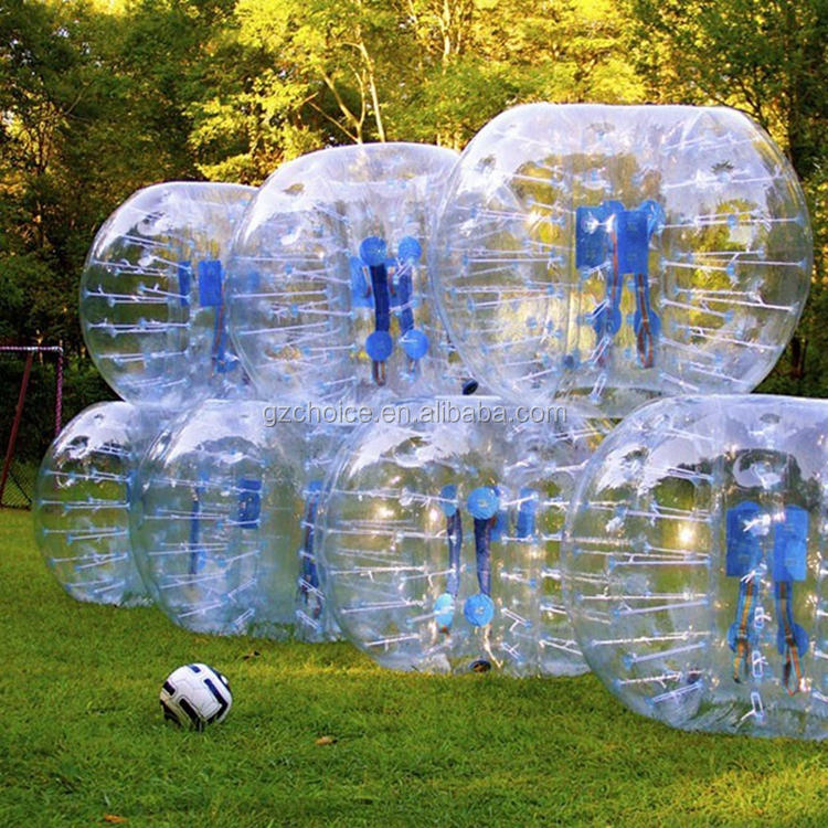 Competitive Price Good Quality Outdoor And Indoor Leisure Entertainment Body Inflatable Bumper Ball