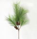 Artificial Plastic Plants Simulation Christmas Pine Cone Pine Tree Branch Wedding Decoration Home Party Decor Flower
