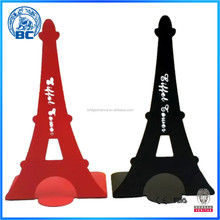 New Eiffel Tower Type Metal Bookend Decorative Book Stand