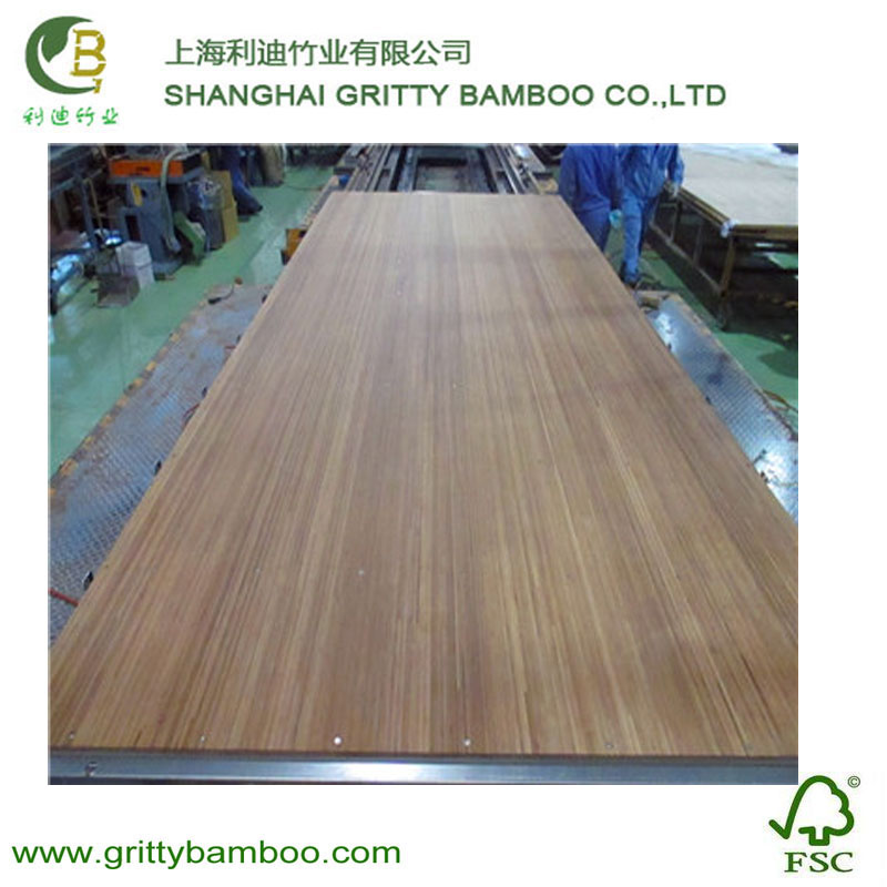 Gritty High Bending Strength Solid Bamboo Engineered Flooring For Truck