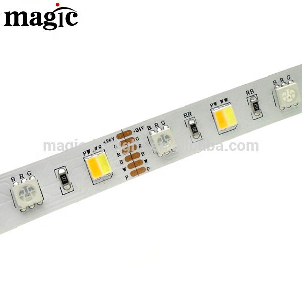 all in one <strong>RGB</strong>+Warm white+Pure White RGBWC 5in1 LED Strip