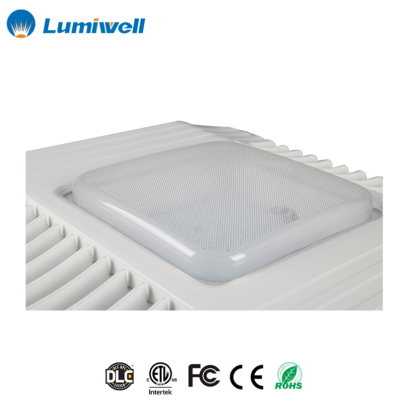 Led canopy fixtures industrial light gas station