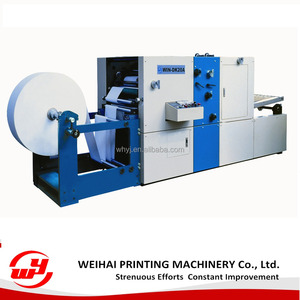 DK20A rotary paper perforating machine with folding die culting counting function