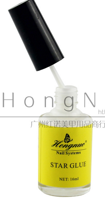 1bottle Pro Star Glue Nail Art Foils Transfer Glue Adhesive Star Foils Transfer Tools Nail Glue 16ml