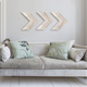 Wood wall arrows Decoration