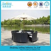 Hot Sale New Design Outdoor Dinning Table And Chair Aluminum