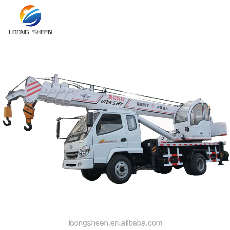 8 Ton Mini Lifting Crane Fassi Type High Up Truck Crane For Sale LXQY-8