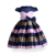 New Arrival Fashion 8 Years Old Girls Sleeveless Party Dress With Bowknot