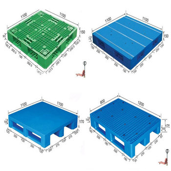 New 2 Way 4 Plastic And Steel Pallet Box Standard Euro America Size