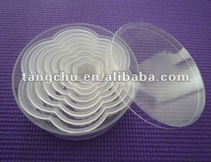 Flower Shape Cake Molds Fondant Decorating Cookie Cutter
