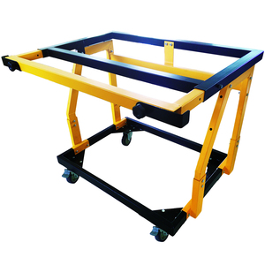 material mate panel folding cart and shop stand