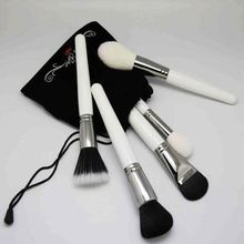 ds 20 pcs kits cosmetic brushes with black case