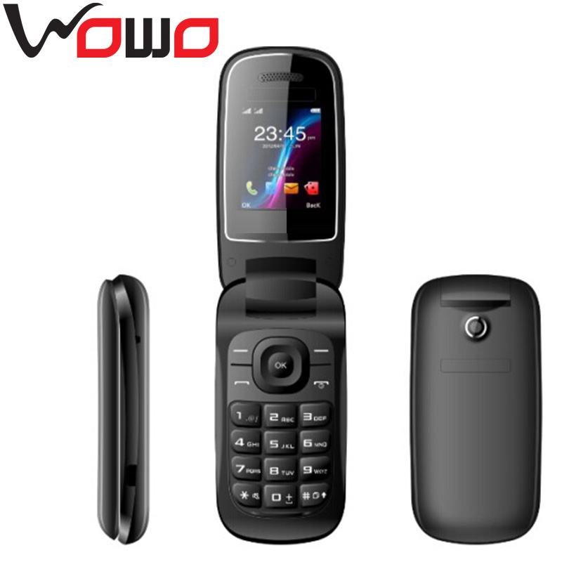 small cute mini flip mobile phone E1272 FM and JAVA with factory price