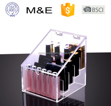 Clear Acrylic Makeup Cosmetic Organizer With Cover Drawers Holder Box Case Storage