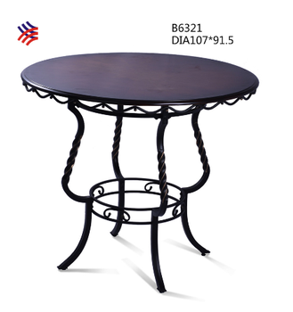 New Design Americe Style Antique High Bar Table And Chair Used ...