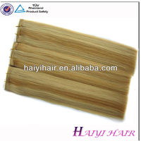 High Quality Direct Factory Red Green Yellow Hair Extensions