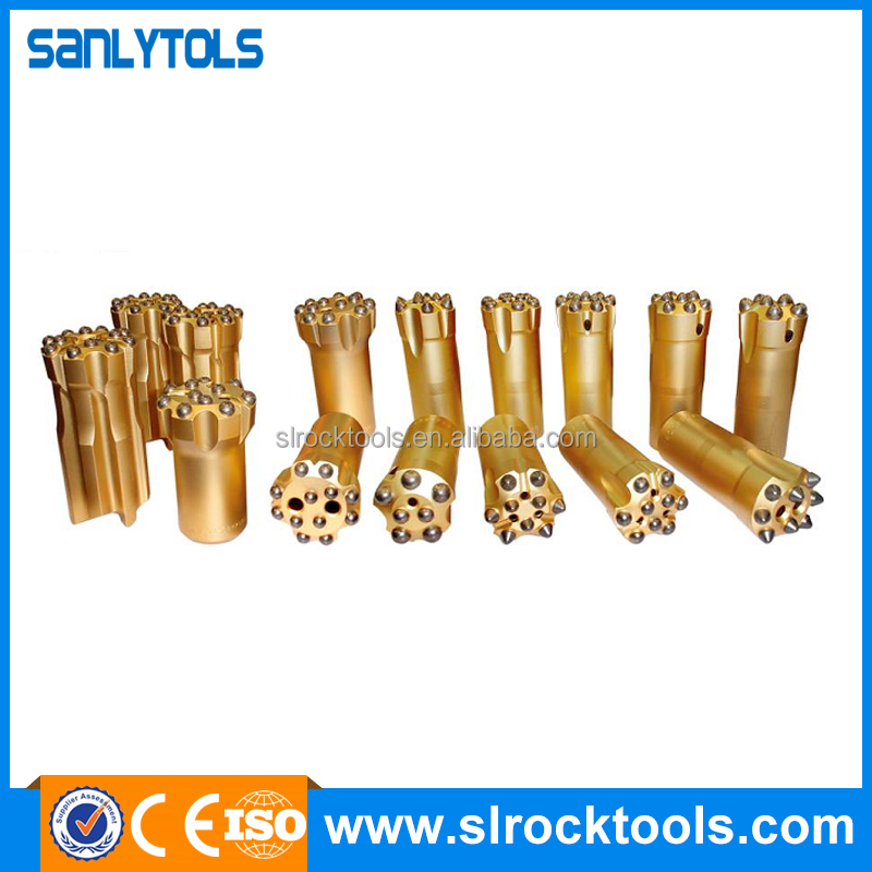 Factory direct supply dth hammer tri cone button bit with high quality