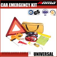 safety warning triangle kit/ roadside car emergency kit/popular car emergency kit