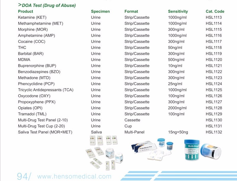 Poppy Seeds Drug Test For Mor/opi - Buy Poppy Seeds Drug Test,Opi Drug  Test,Drug Test Product on Alibaba com
