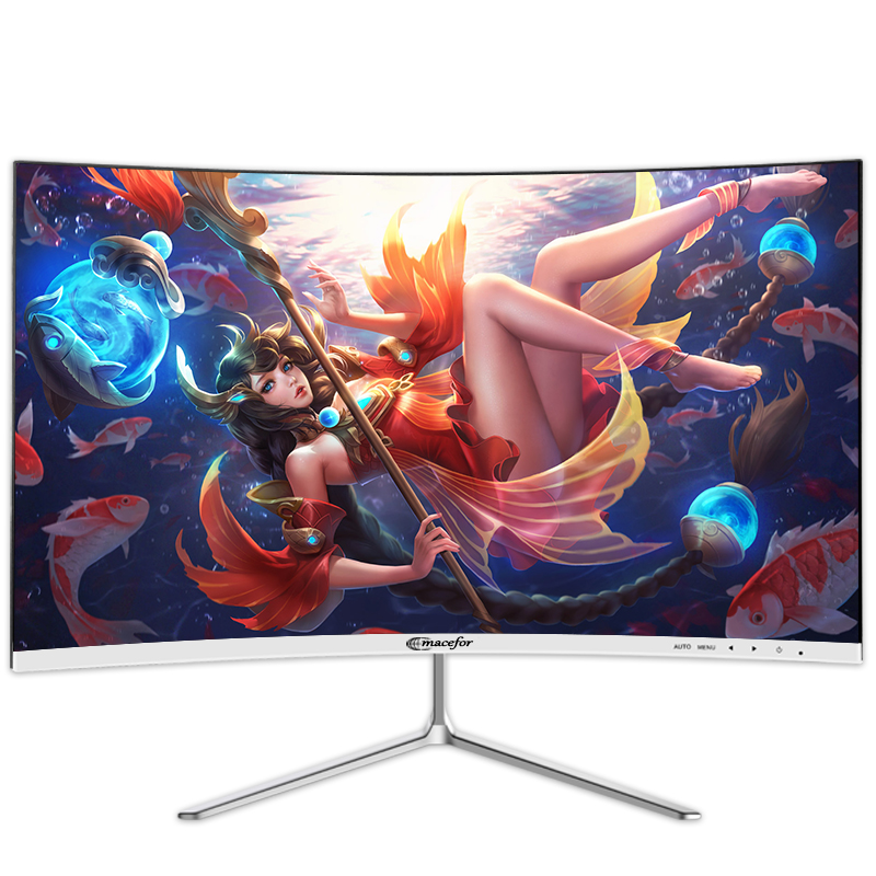 Full hd 24 inch ultra thin R3000 curved lcd <strong>monitor</strong>