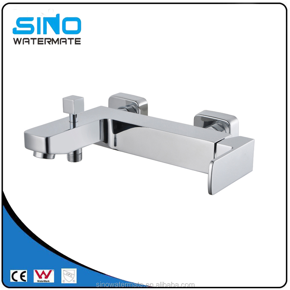 Square bathroom sink bath taps with shower mixer