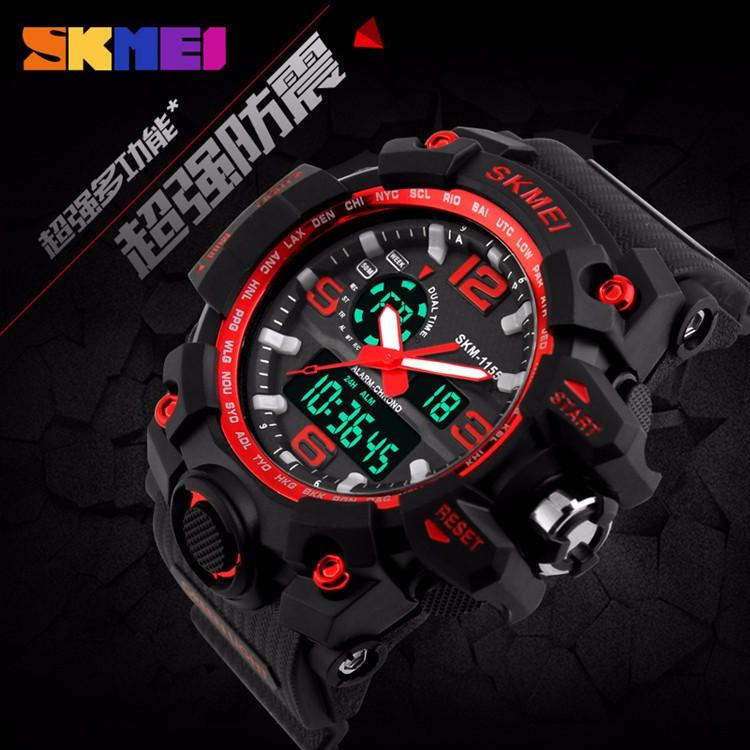 skmei 1155 watch instructions