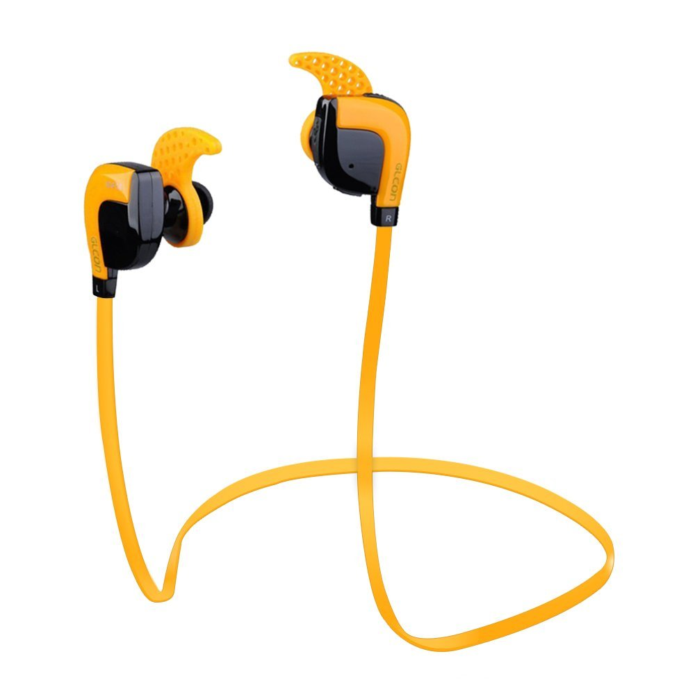 Stereo Bluetooth Earpiece,Super Bass on APT-X lossless Codec,Noise Cancellation, 8 Hours Music Playing Headset with Mic