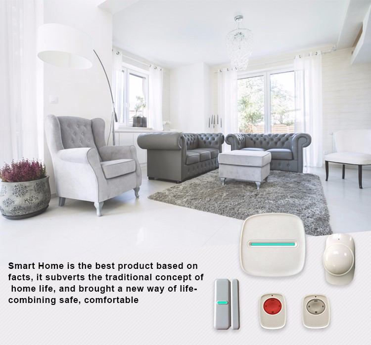 New design smart home digital wireless remote controller