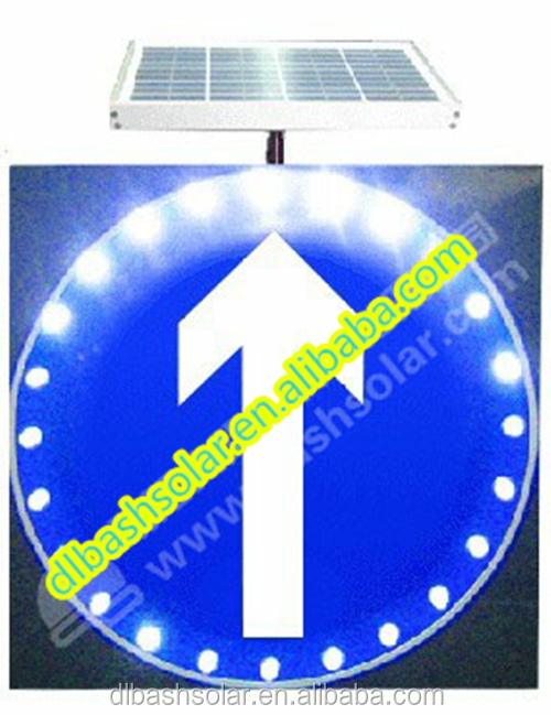 RION solar traffic Road signs advertising road signs
