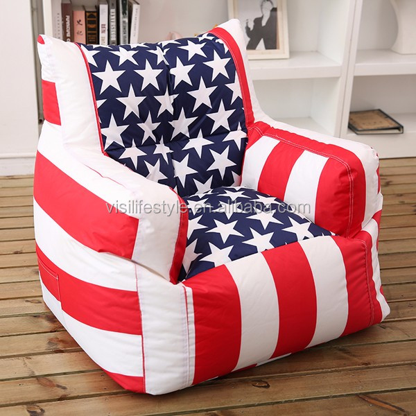 Miraculous Fashionable Waterproof Bed Room Furniture Flag Bean Bag Adult Bean Bags Fabric Beanbag Armchair Buy Beanbag Armchair Lazy Boy Recliner Lounge Caraccident5 Cool Chair Designs And Ideas Caraccident5Info