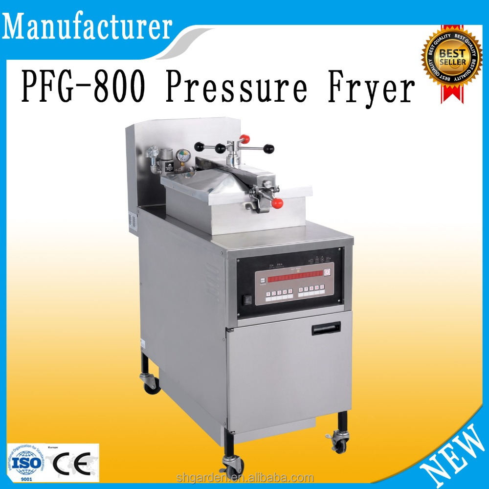 PFG-800 tornado potato deep fryer/gas pressure fryer/commercial electric oilless fryer