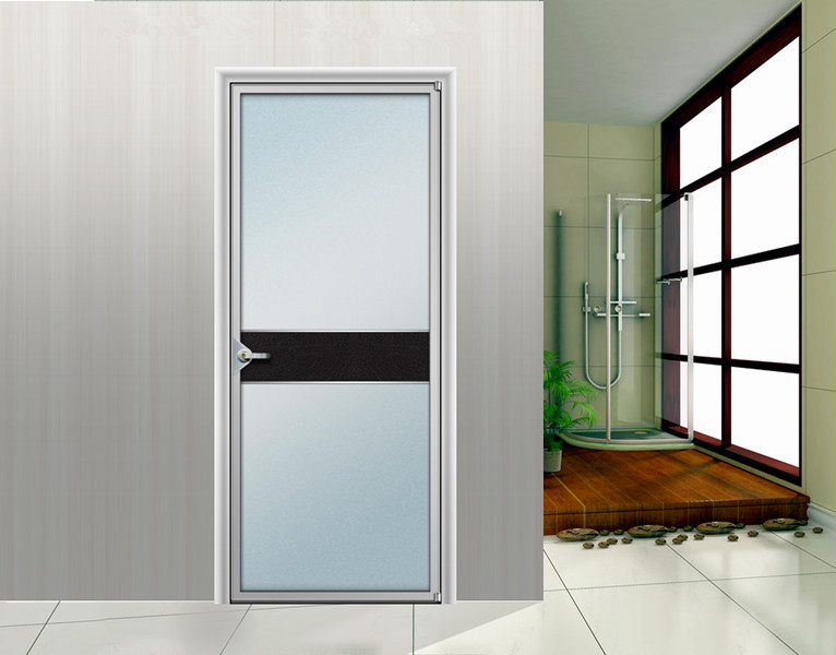 Aluminum glass door and window for bathroom buy for Office glass door entrance designs