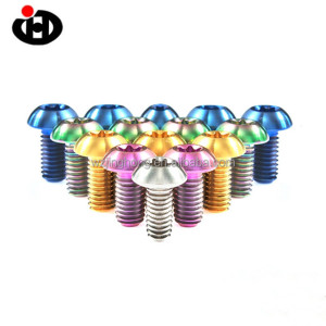 Nuts Bolts Hardware Fasteners Products Titanium Alloy Anodized Bolts