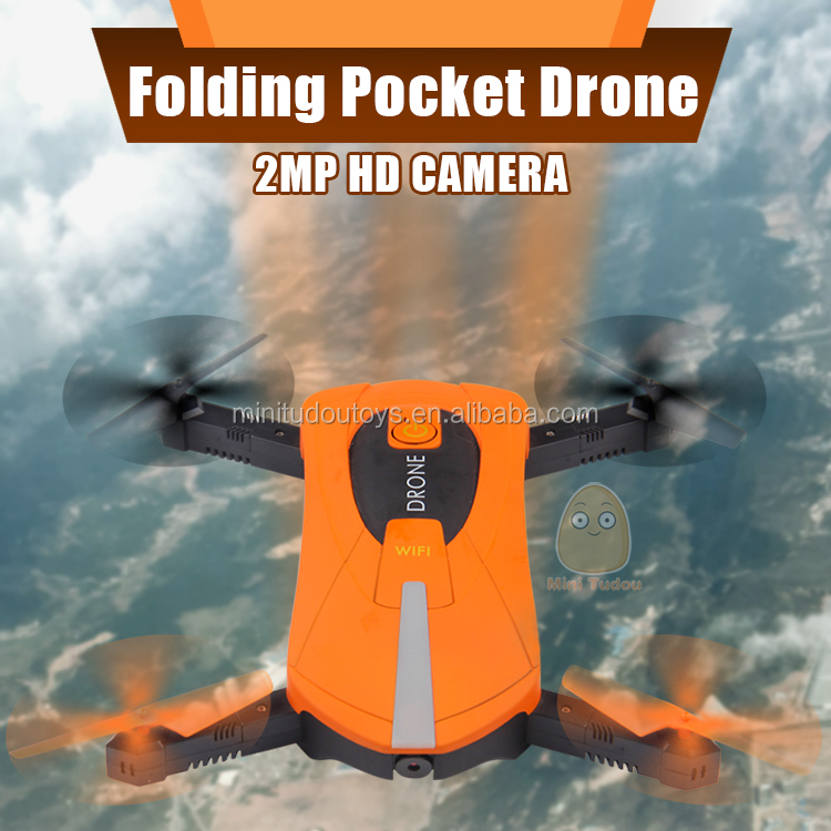 JY018 2.4G 6-Axis Gyro WIFI FPV 720P HD Camera RC Quadcopter Drone Foldable RC Selfie Dron