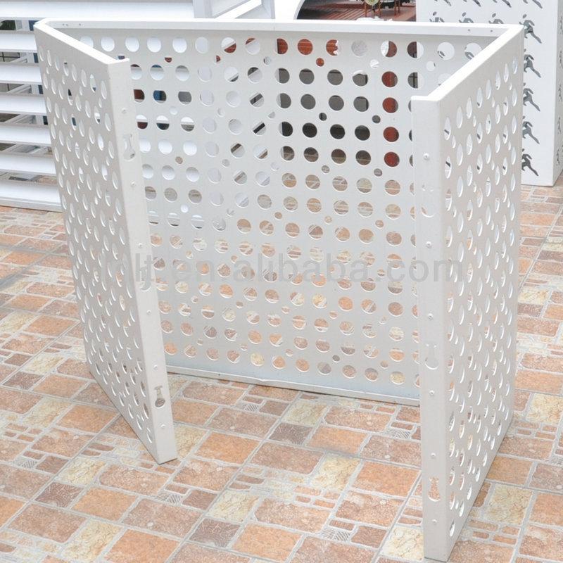 Outdoor Decorative Metal Aluminium Air Conditioner Cover Buy Aluminium Air Conditioner Cover