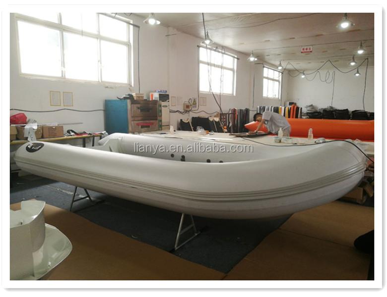 Liya Hard Bottom Inflatable Dinghy Cheap Aluminum Fishing Boats
