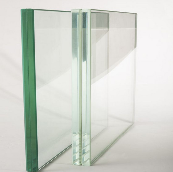 6.38mm 8.38mm 10.38mm Safety Laminated Glass With Colorful ...
