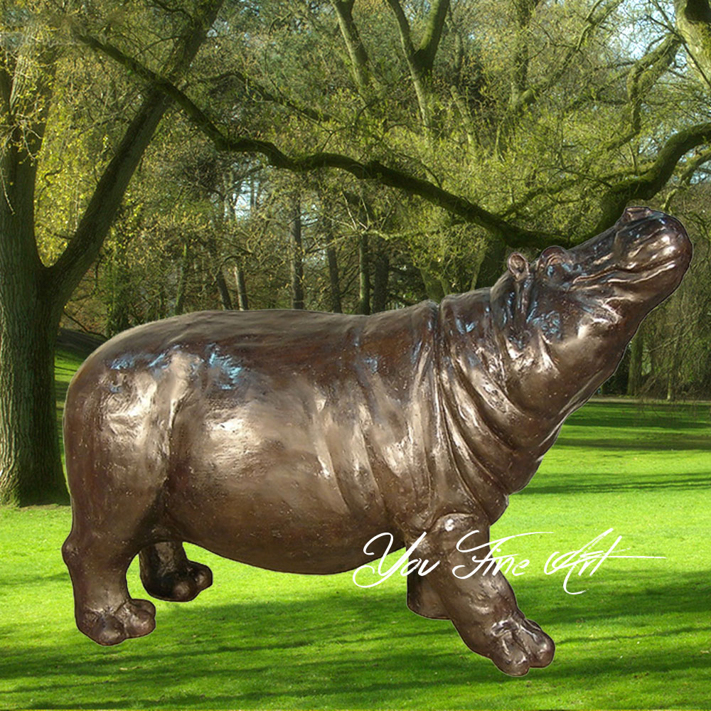 Bronze Hippo Sculpture, Bronze Hippo Sculpture Suppliers and Manufacturers  at Alibaba.com