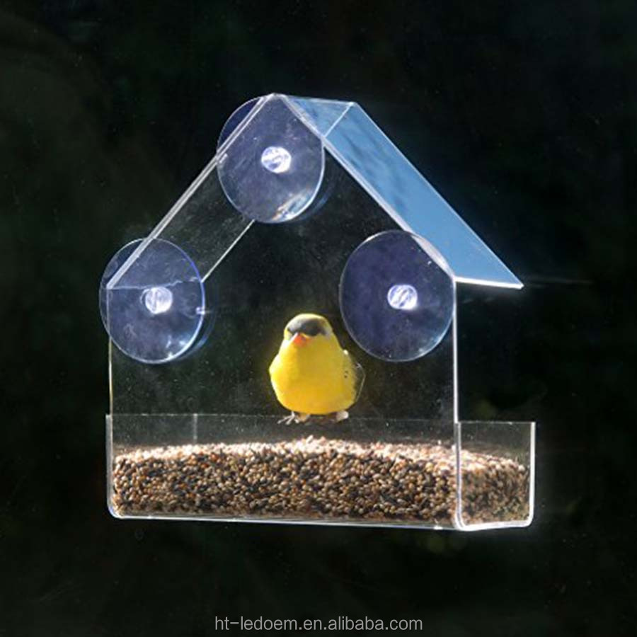 acrylic shop crystal house cups suction feeder my powerful with bird window feeders product clear baths hot large