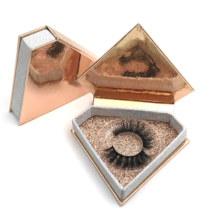Wholesale False Eyelashes Custom Eyelash Packaging 3D Mink Eyelashes